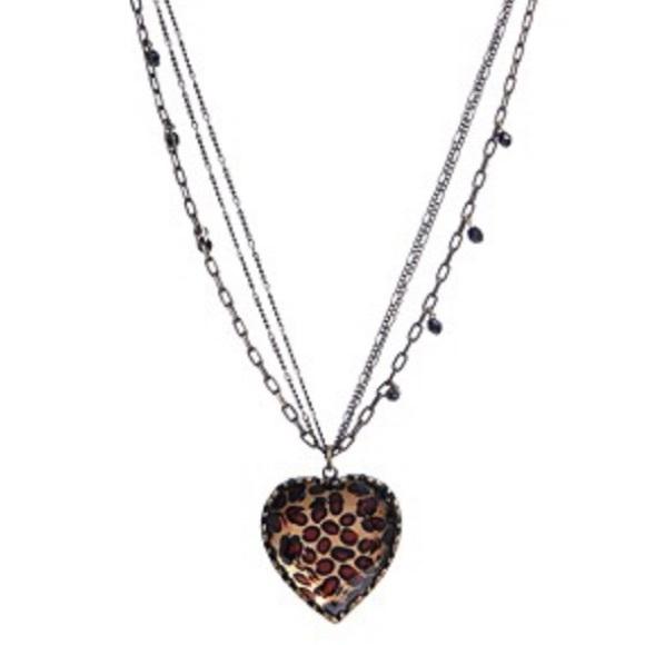 Ashlies Attic Gold or Silver Cheetah Necklace